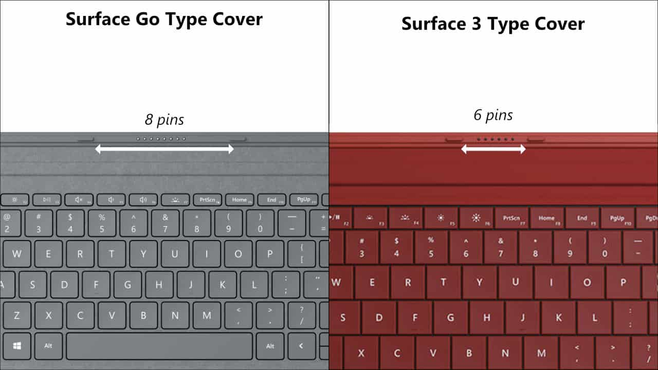 Surface Go Type Cover và Surface 3 Type Cover -4