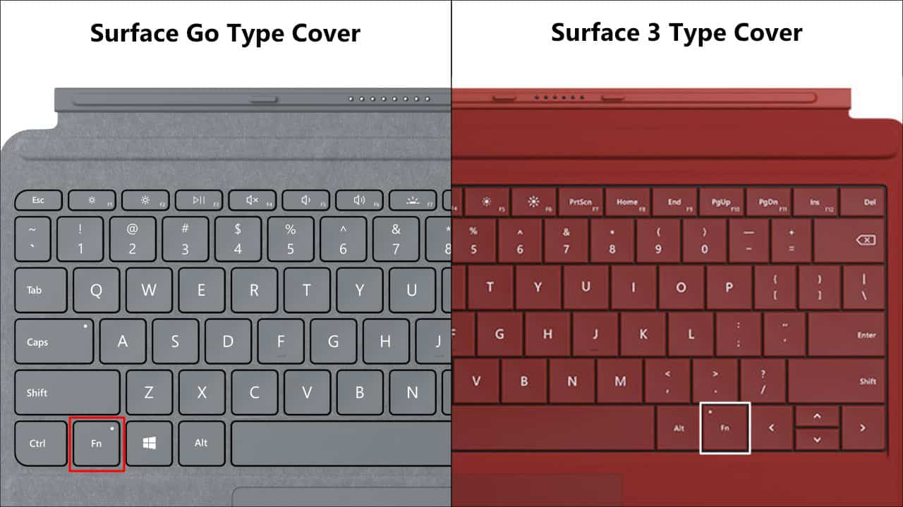 Surface Go Type Cover và Surface 3 Type Cover -3